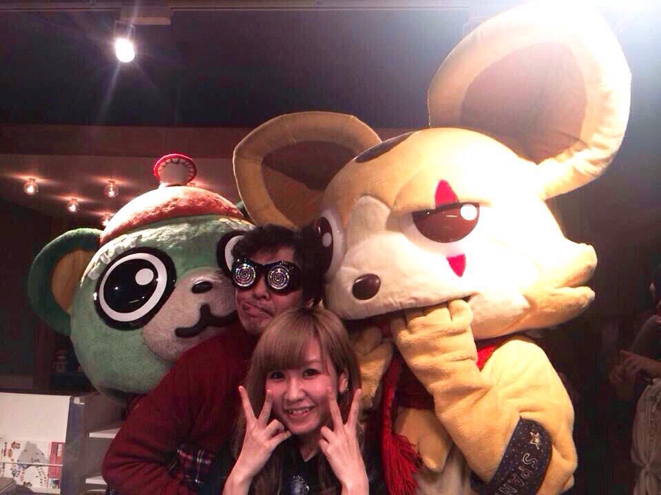 マジ基地TV・山口勝平さんと加藤有加利さん。