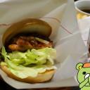 XO醤 ジャン チキンバーガー