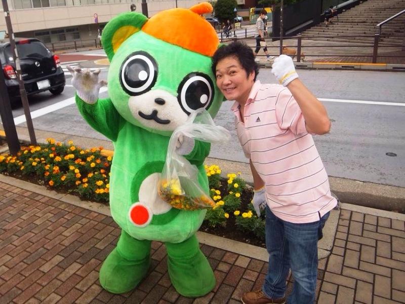 2014年は大崎一番太郎と山口勝平さんも参加!
