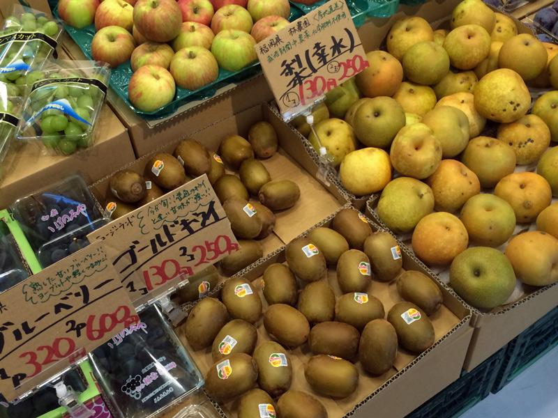今年は梨の収穫が早く、美味しいそうですよ!
