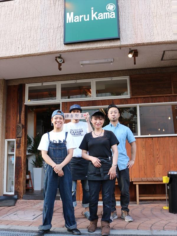 とても仲の良いスタッフ。お店は大崎警察署前です。