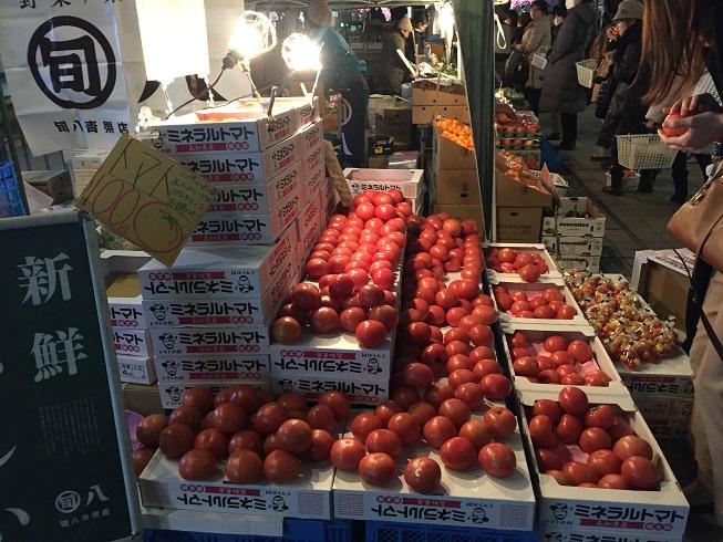 美味しいトマトがなんと100円!